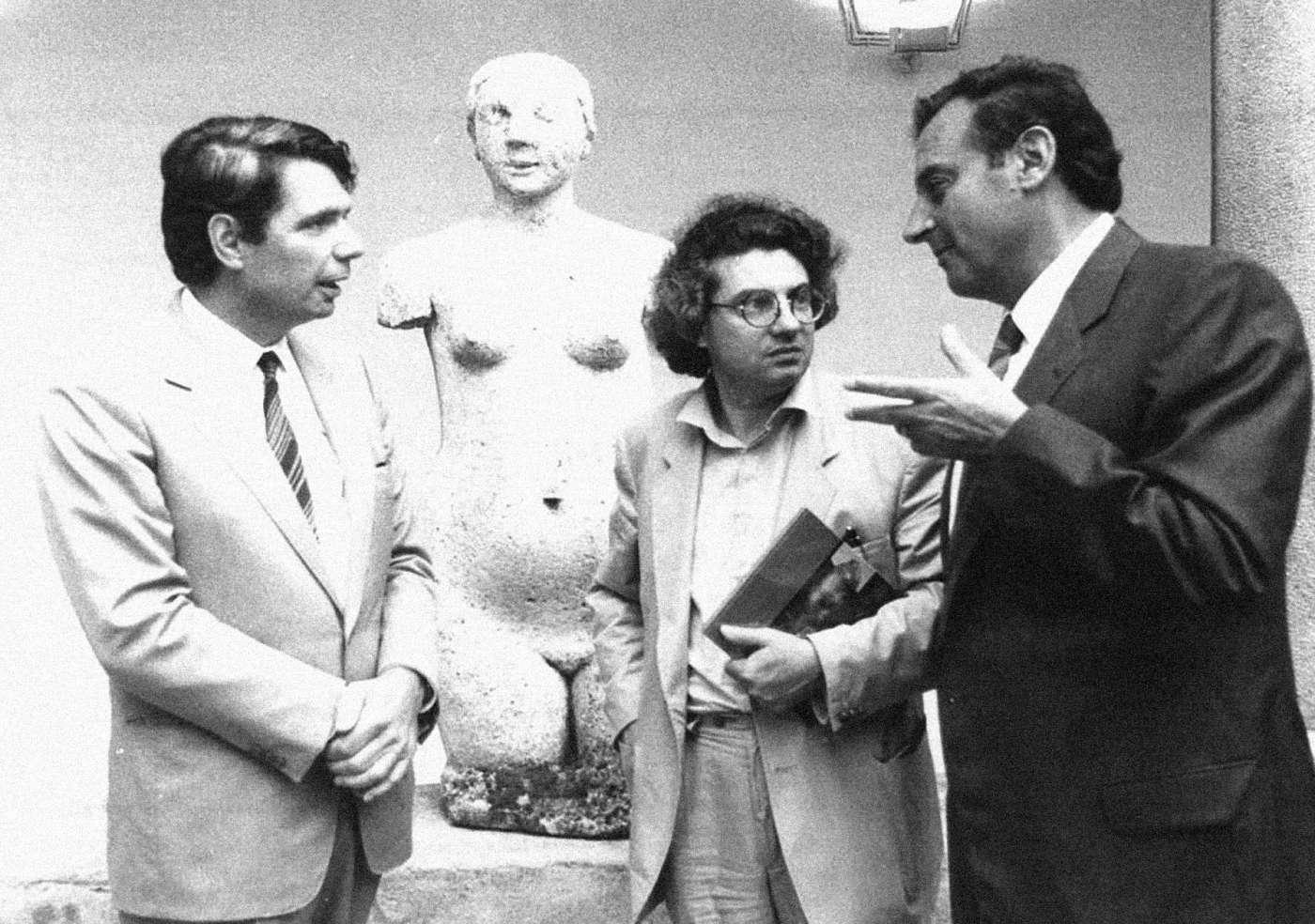 Giuseppe Buffi, Mario Botta, Giorgo Noseda